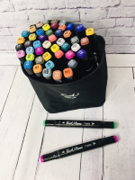 Набор двухсторонних маркеров для скетчинга 48 цветов Touch