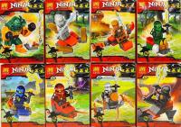 Конструктор Lele 31003 Ninja 16 шт в блоке.