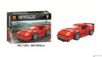 Конструктор Speeds Champions Красный Феррари 204 детали 11253