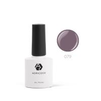 Цветной гель-лак ADRICOCO №079 дымчато-лиловый (8 мл.)