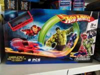 Трек Хот Вилс Супергерои +1 машинка 901