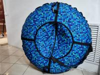 Тюбинг (ватрушка для катания) ПВХ-Оксфорд 95 см